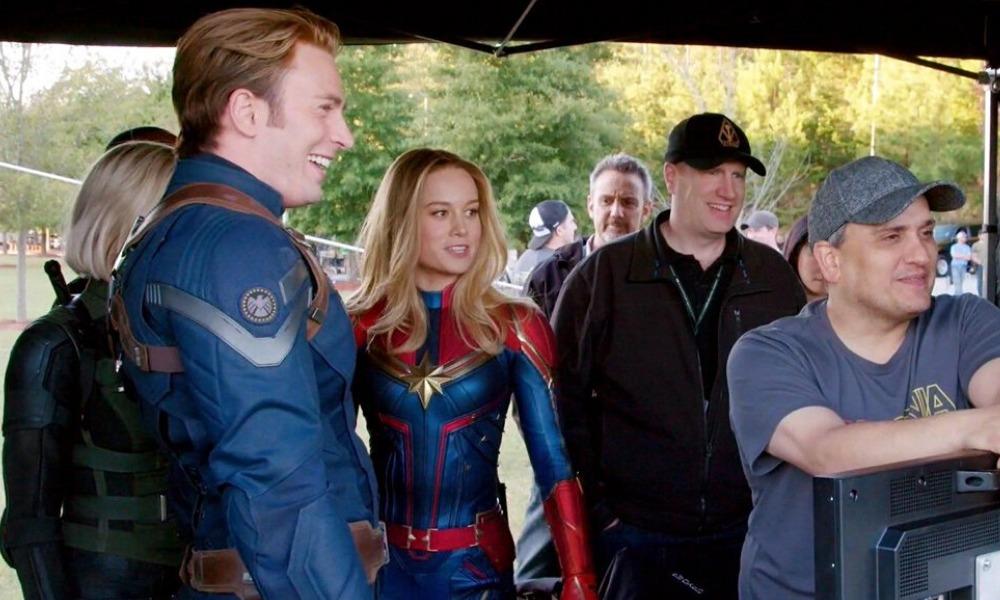 Brie Larson recordó su primera toma como Captain Marvel