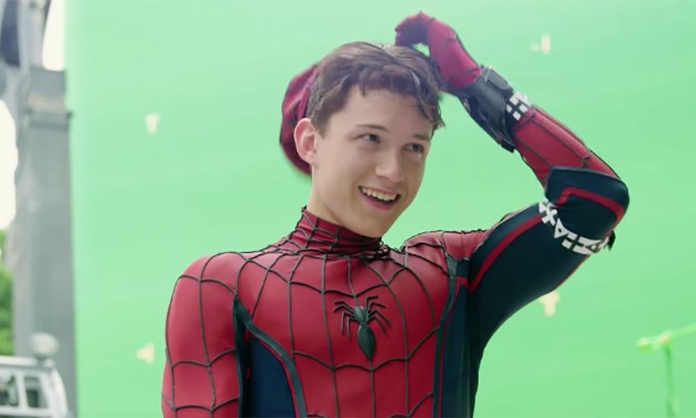 Tom Holland ha robado utilería de Marvel