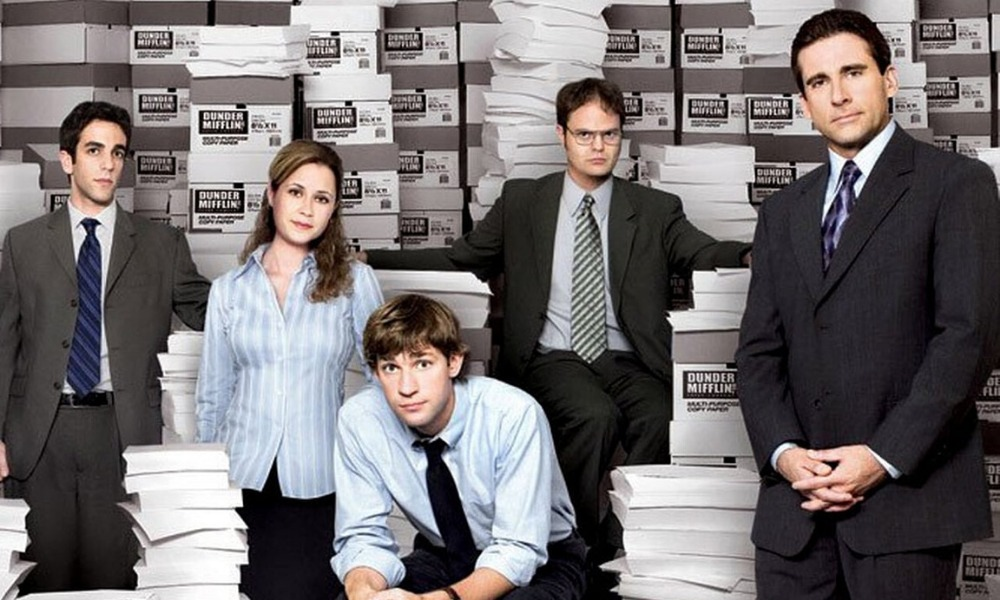 John Krasinski publicó una reunión de 'The Office'