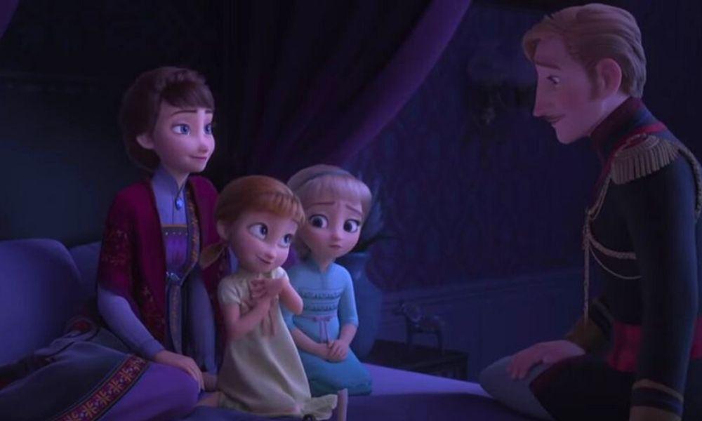 flashback de 'Frozen 2' tiene conexión con la primera