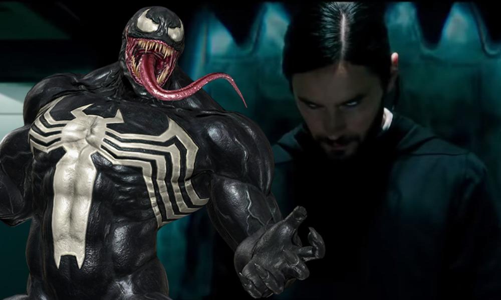 Foto de 'Morbius' reveló una referencia de Venom