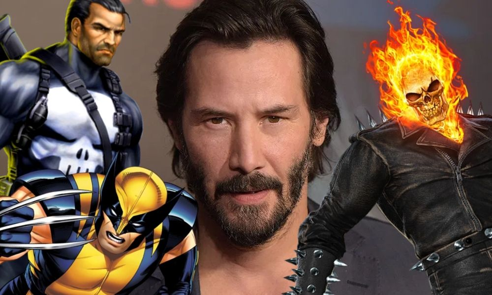 Keanu Reeves sería Ghost Rider