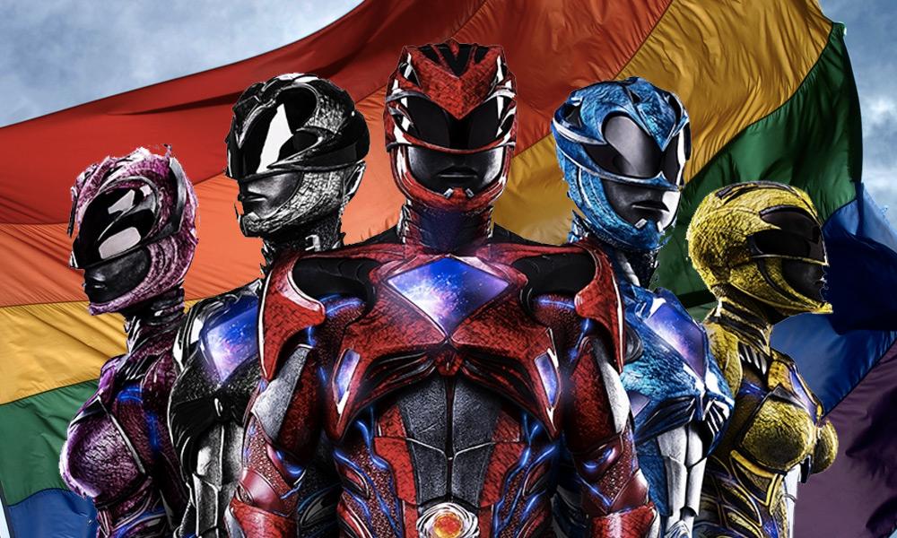 Blue Ranger será gay en el reboot de los 'Power Rangers'