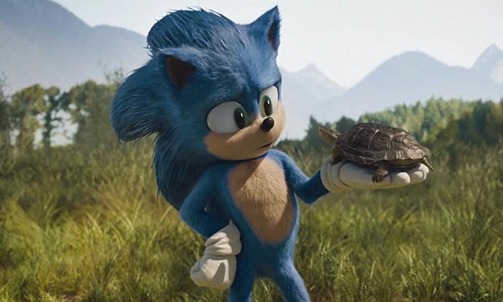 Baby Sonic en 'Sonic The Hedgehog'
