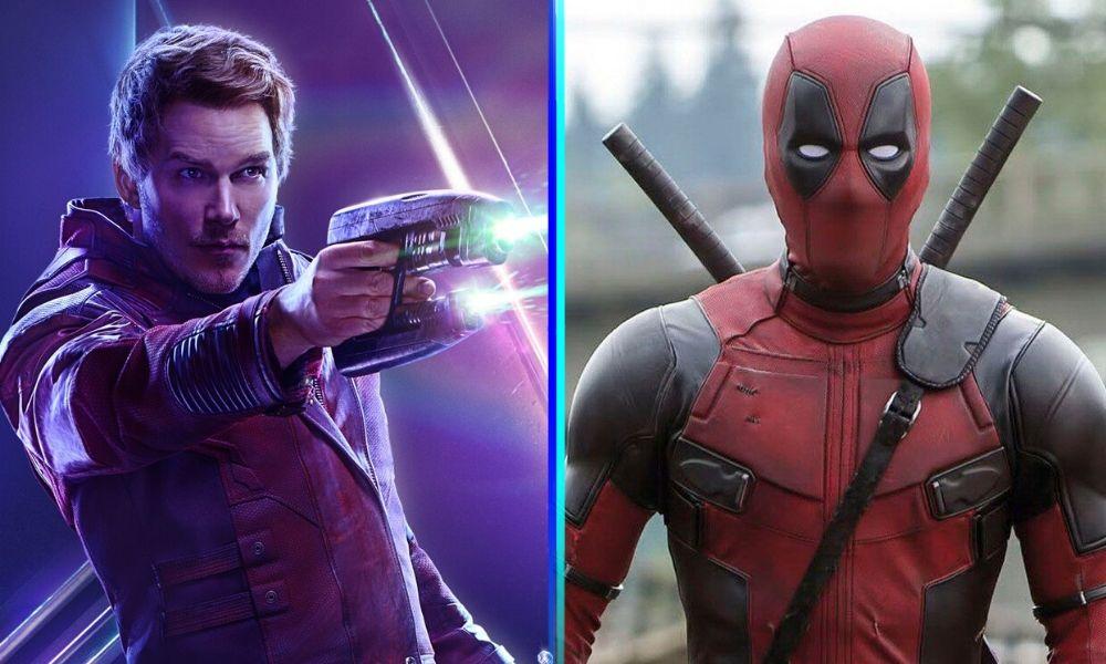 Star-Lord y Deadpool juntos en el MCU