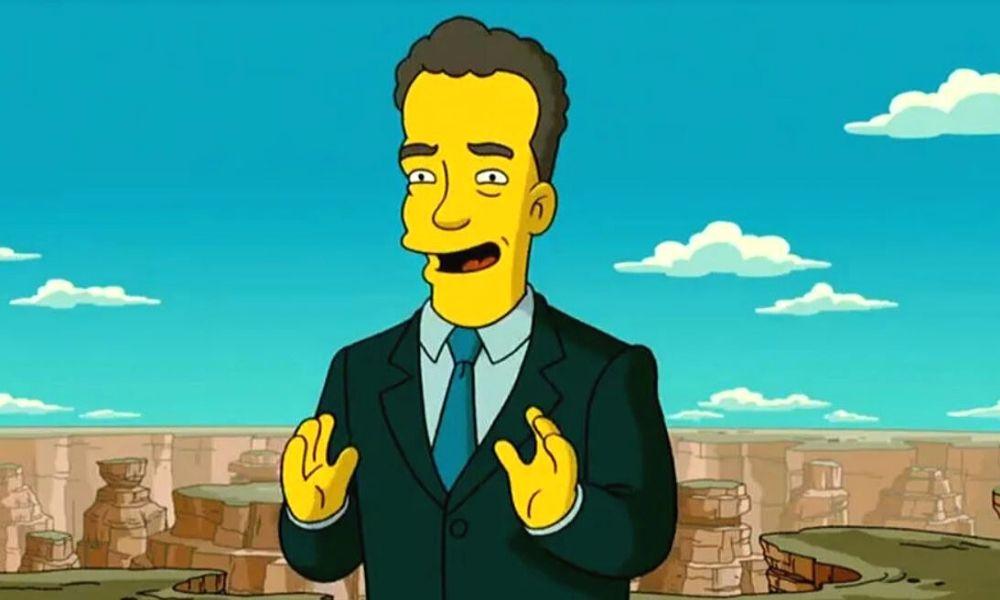 'The Simpsons' predijo que Tom Hanks tendría coronavirus (1)