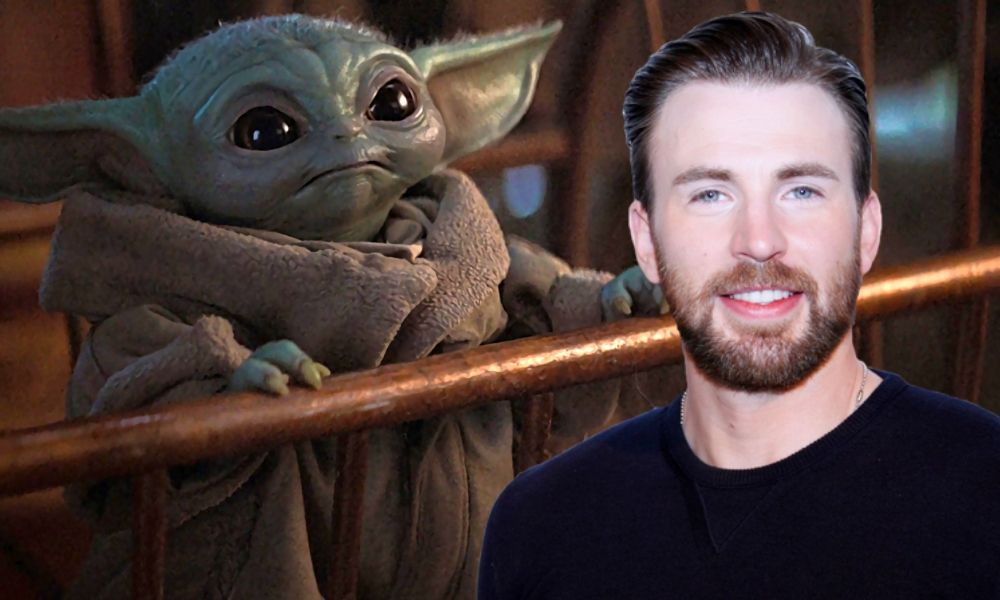 Chris Evans habló sobre Baby Yoda