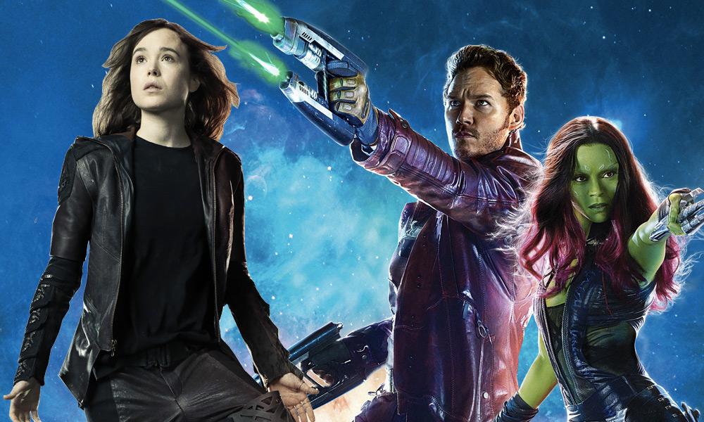Kitty Pryde como parte de Guardians of the Galaxy