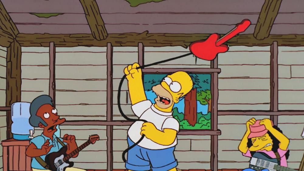 Bandas que han estado en 'The Simpsons'
