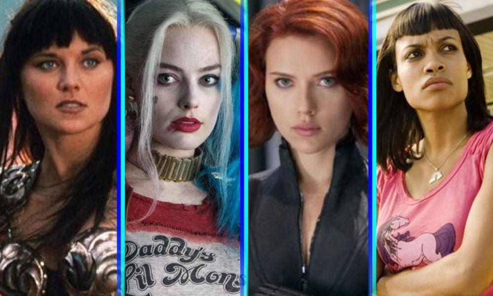 Black Widow y Harley Quinn pelean en inesperado crossover