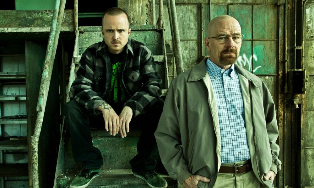 Bryan Cranston y Aaron Paul en 'Better Call Saul'