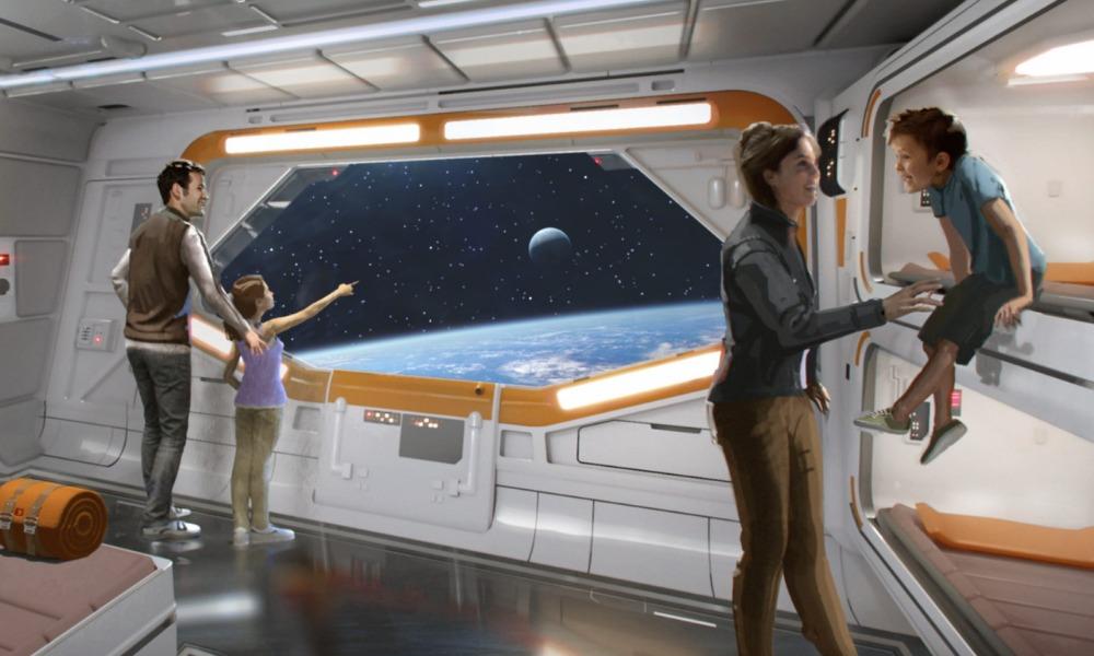 Filtraron fotos del nuevo hotel de 'Star Wars'