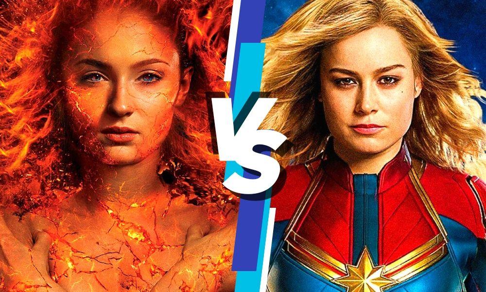 ganador de una pelea entre Phoenix y Captain Marvel