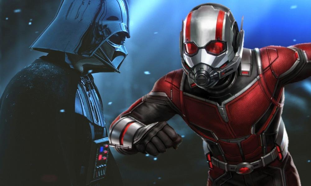 sonido de los blasters de los Stormtroopers aparece en Ant-Man
