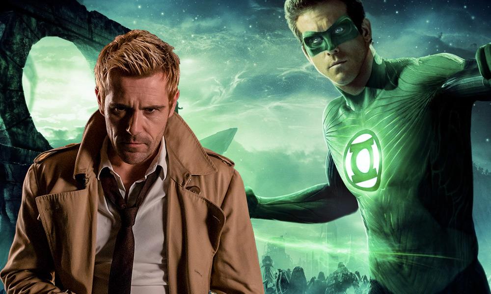 Detalles de Green Lantern y Justice League Dark