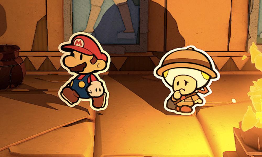 Fecha de lanzamiento de Paper Mario: The Origami King
