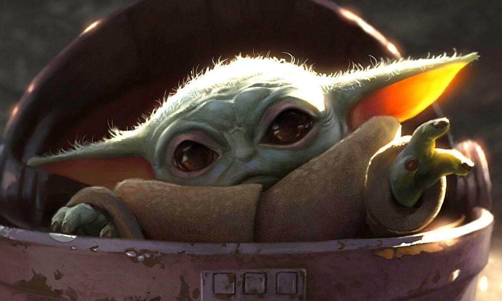 primer diseño de Baby Yoda