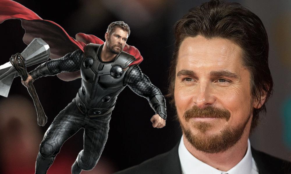 Fan art de Christian Bale como Adam Warlock