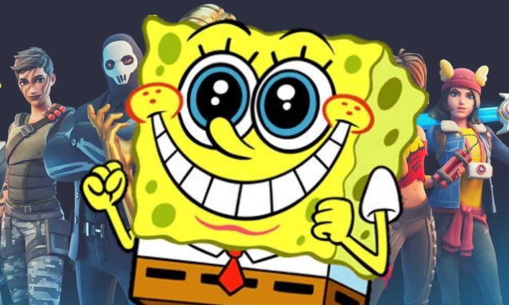 Bob Esponja estaría en la tercera temporada de 'Fortnite'