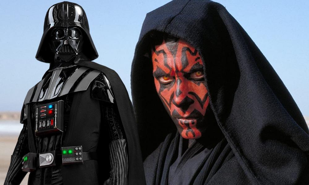 Darth Maul sería responsable de la creación Darth Vader