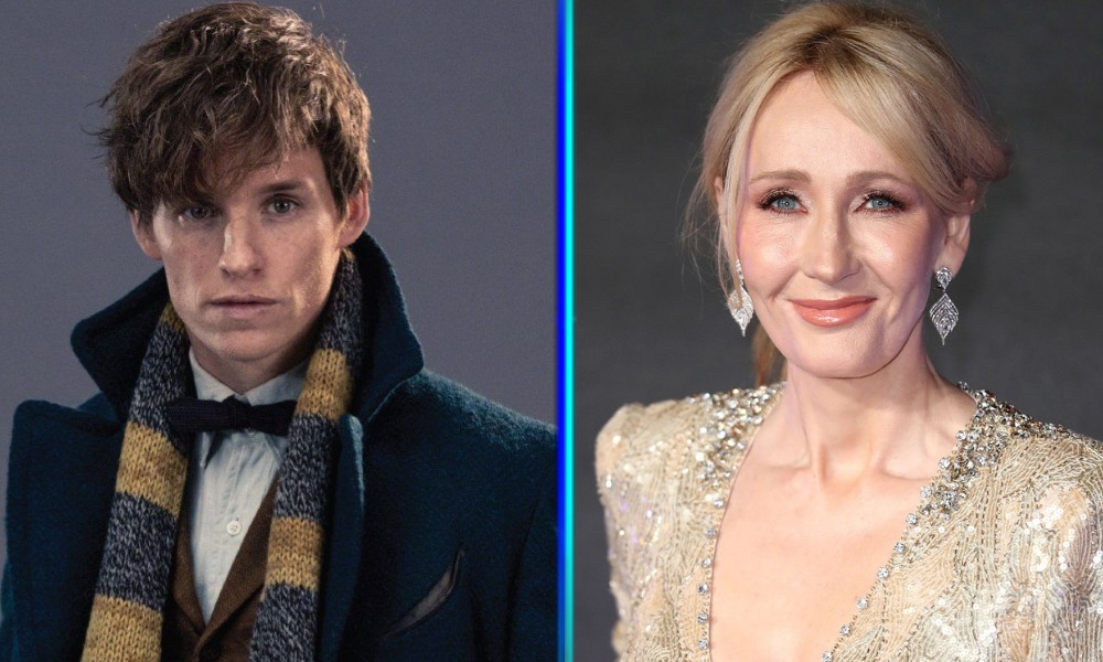 Eddie Redmayne no quiere a J.K. Rowling en 'Fantastic Beasts'