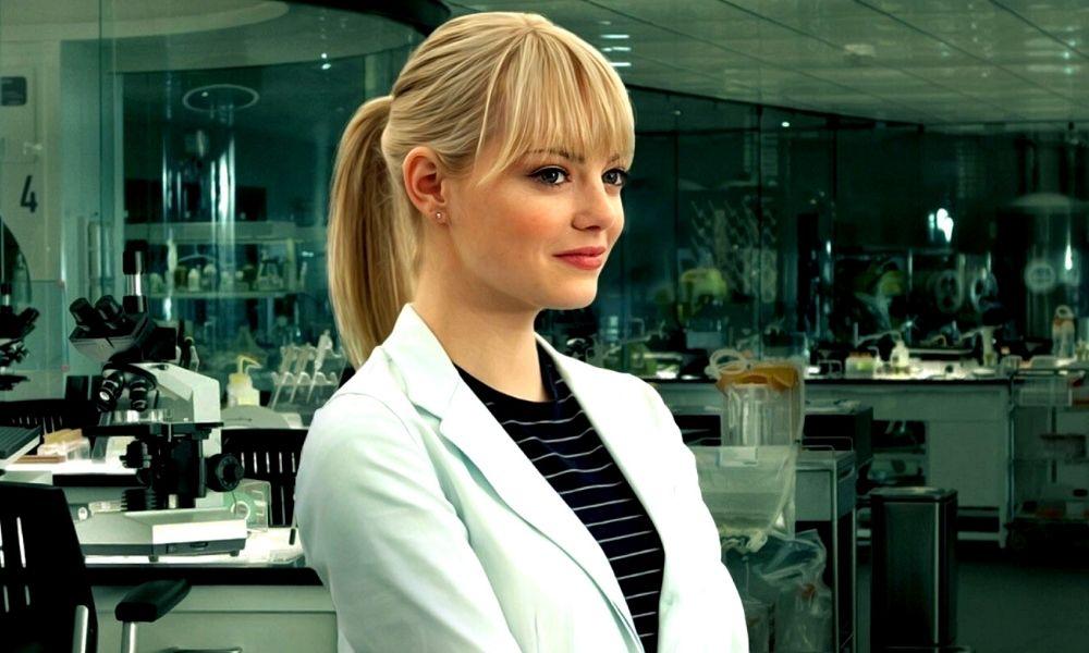 Emma Stone como Spider-Gwen