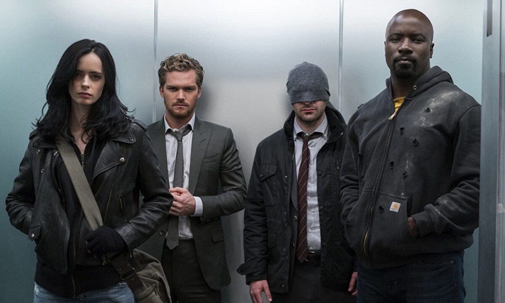 fan póster de The Defenders