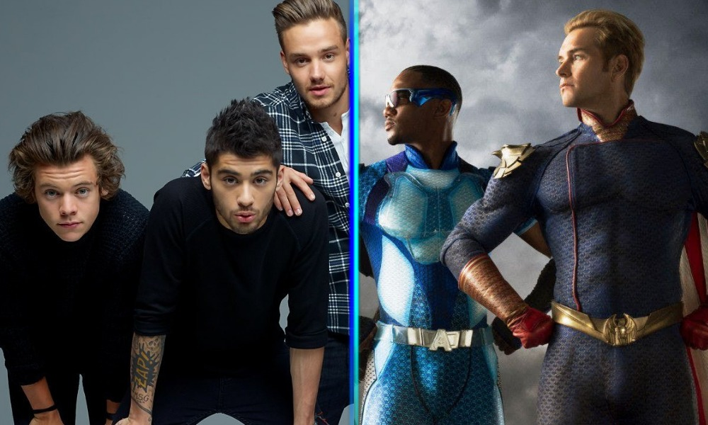 Fans confundieron a 'The Boys' con 'One Direction'