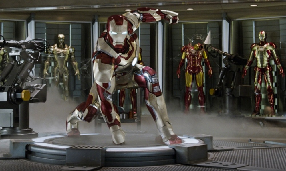 imagen de las armaduras Stark Tech en Marvel's Avengers