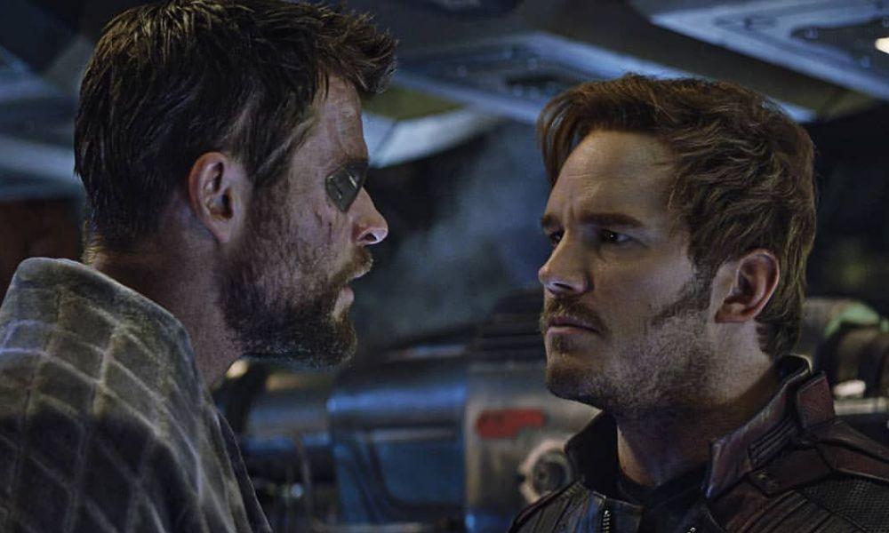 Nueva película del MCU? Revelan imágenes inéditas de Chris Hemsworth y  Chris Pratt