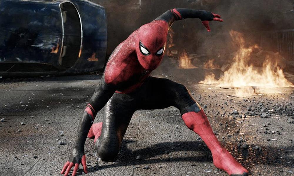 Spider-Man y Blade enfrentando a Venom y Morbius