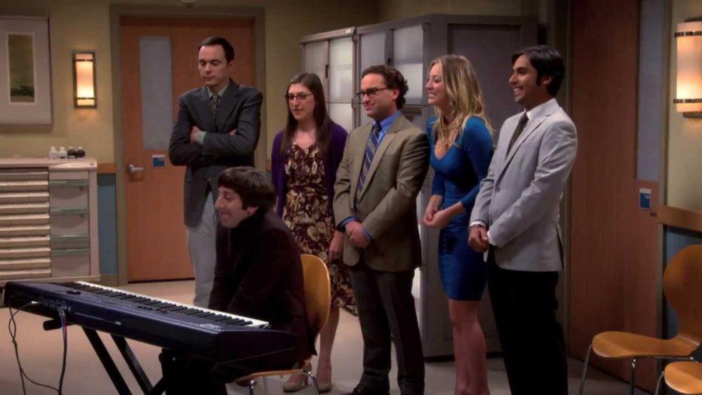 actos musicales de 'The Big Bang Theory'