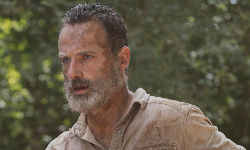AMC no está conforme con los guiones para las películas de Rick Grimes