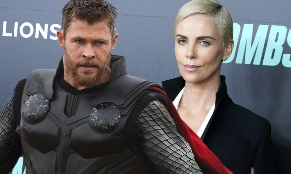 fan art de Charlize Theron como la nueva Thor