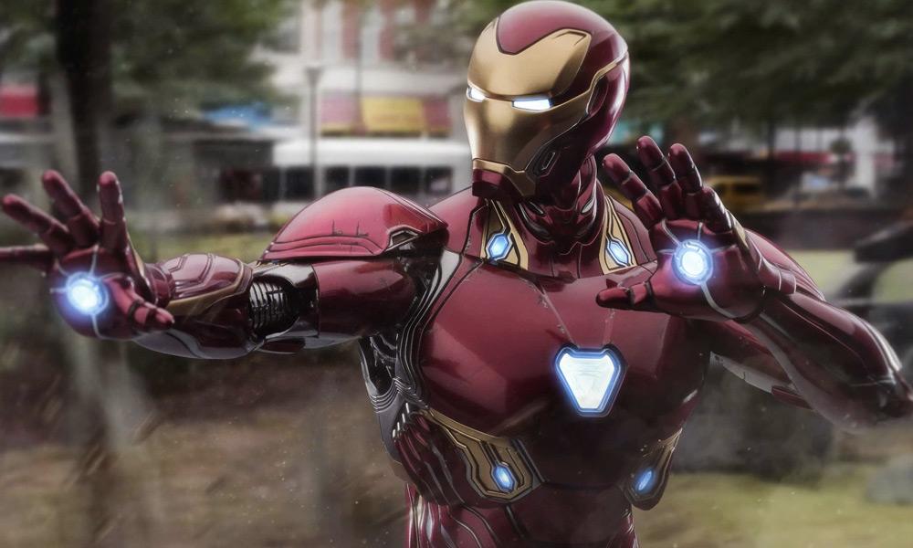 Traje de Iron Man se conecta con Wakanda