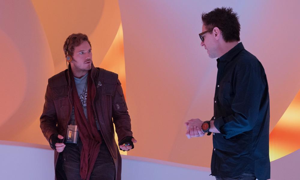 James Gunn compartió su trabajo con Marvel