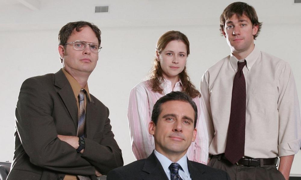 John Krasinski usó peluca en 'The Office'