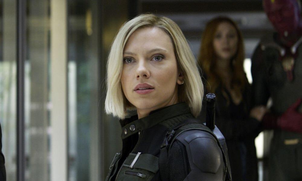 lack Widow conoce a Professor Hulk en Infinity War (1)