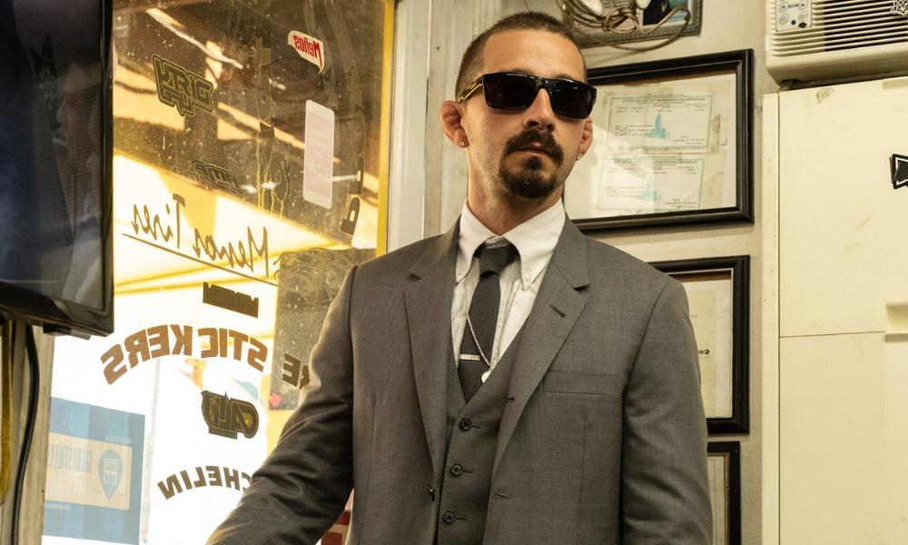 Shia LaBeouf se tatúo para 'Tax Collector'