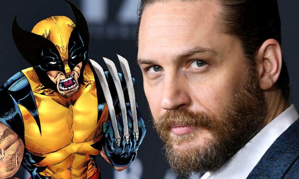 Tom Hardy con el traje clásico de Wolverine