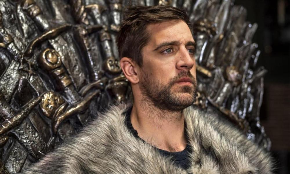 Aaron Rodgers habló de su cameo en 'Game of Thrones'