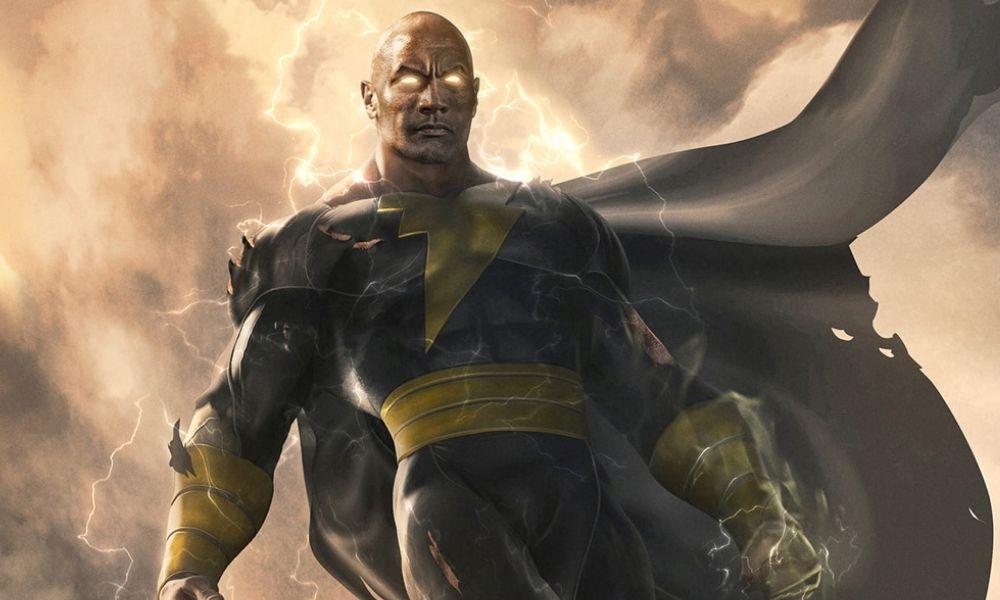 The Rock compartió traje de Black Adam