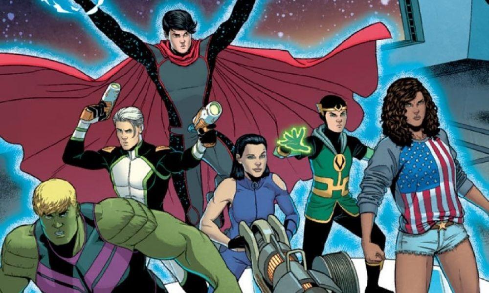 alineación de Young Avengers