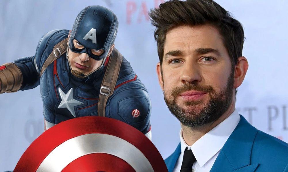 deep fake de John Krasinski como Captain America