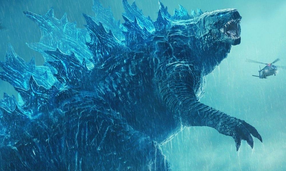 estatua de Godzilla