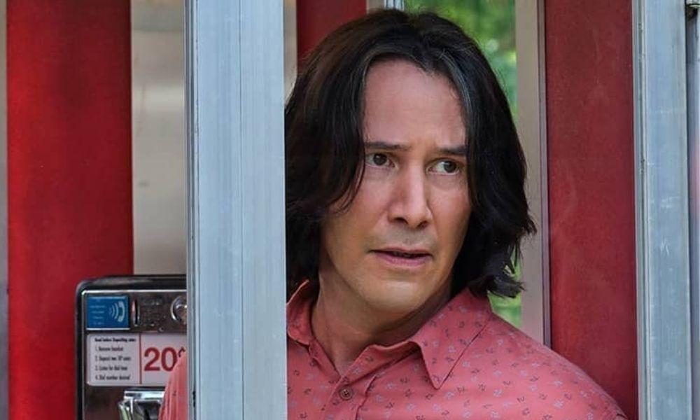Keanu Reeves para su versión adulta en 'Bill and Ted Face the Music'