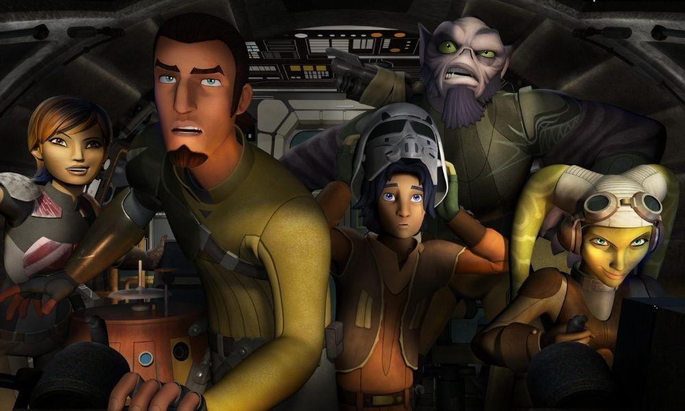 live-action de 'Star Wars Rebels'