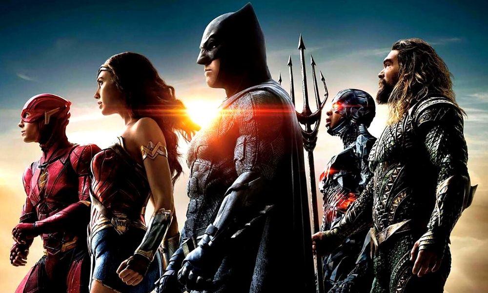 película de Wonder Woman y Flash