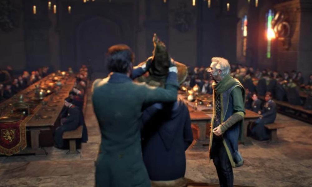 presentan el juego Hogwarts Legacy