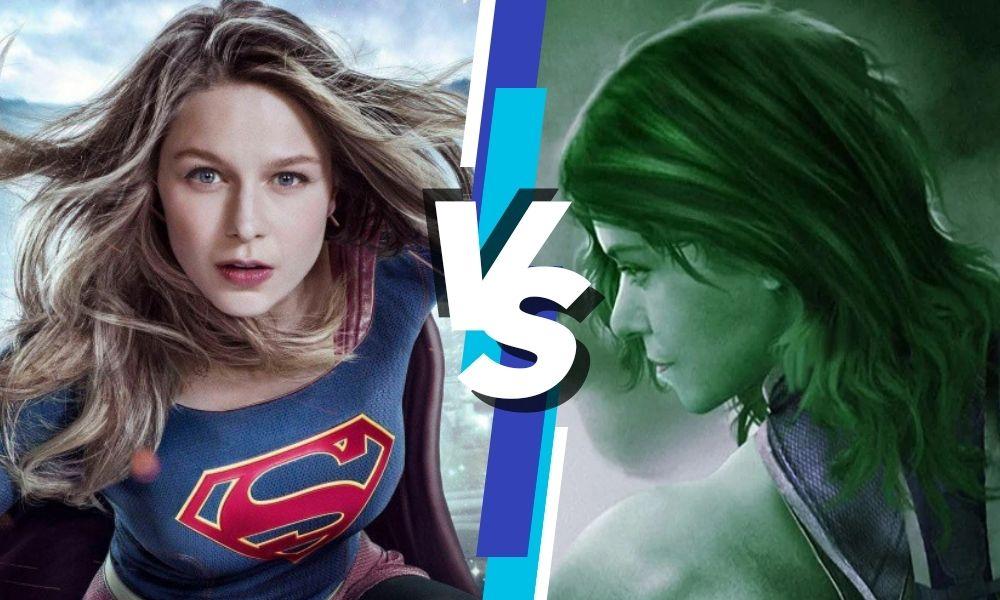 She-Hulk Vs Supergirl